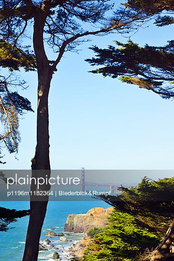 Golden Gate View Point - p1196m1182364 von Biederbick & Rumpf