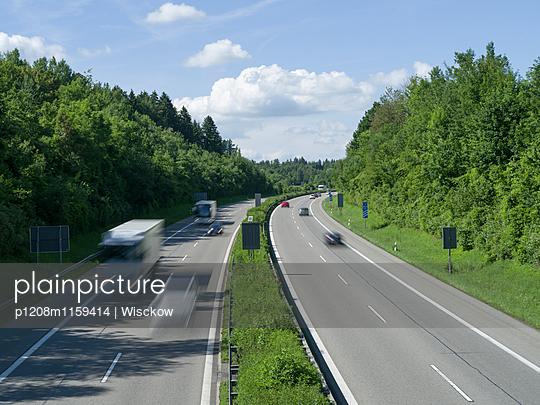 Autobahn - p1208m1159414 von Wisckow
