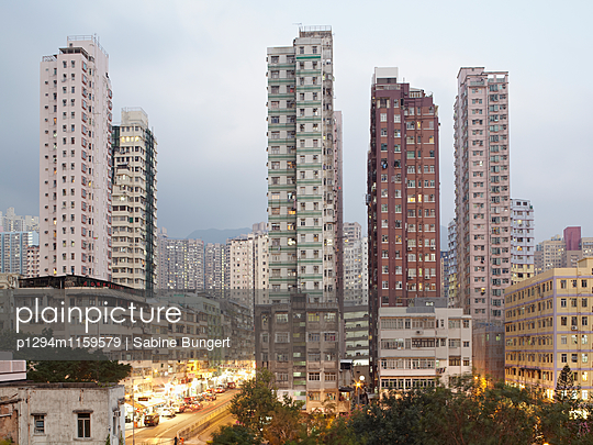 Hongkong - p1294m1159579 von Sabine Bungert