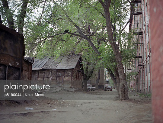 Backyard in Russia