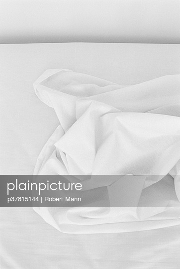 Abstract bed sheet shapes