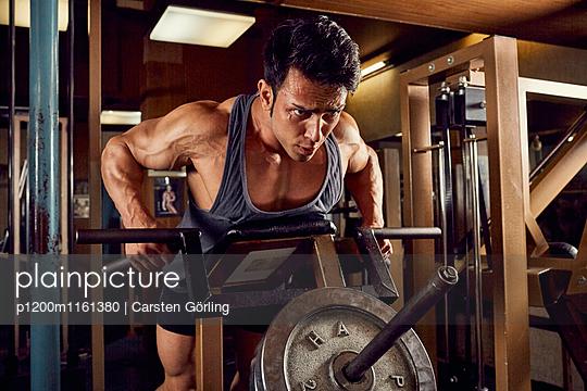 Bodybuilding - p1200m1161380 von Carsten Görling
