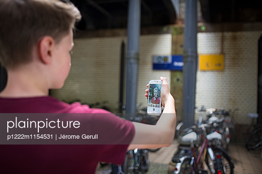 Selfie - p1222m1154531 von Jérome Gerull