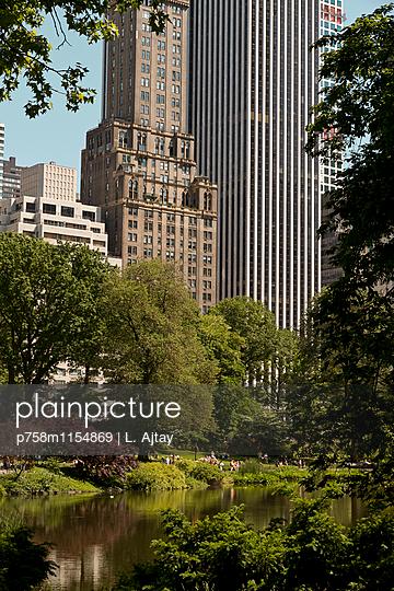 Central Park New York City - p758m1154869 von L. Ajtay