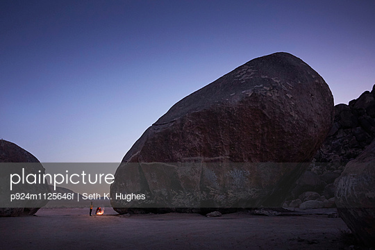 Giant rock, Yucca Valley, California