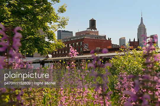 Highline in New York - p470m1152809 von Ingrid Michel