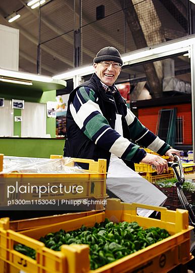 Gemüsehändler - p1300m1153043 von Philipp Schmidt