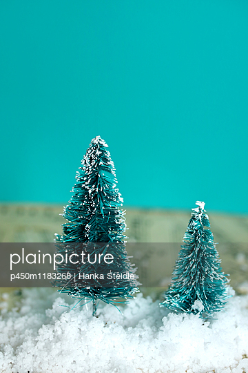 Kleine Weihnachtsbäume   - p450m1183268 von Hanka Steidle