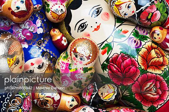 Variations of matryoschka dolls
