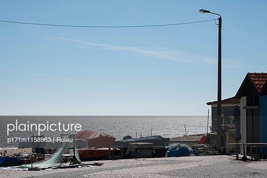 Fischerdorf am Atlantik - p171m1158983 von Rolau