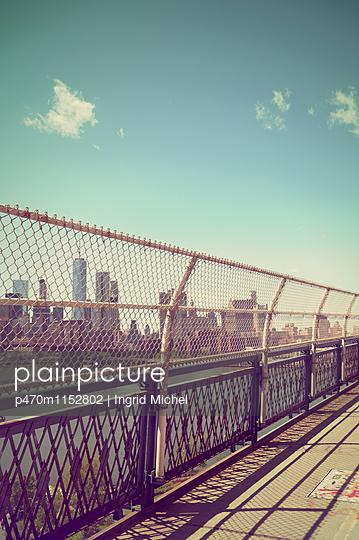 Manhattan Bridge - p470m1152802 von Ingrid Michel