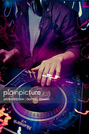 A DJ plays dubstep at Amazon Bar in Hanoi, Vietnam, Asia