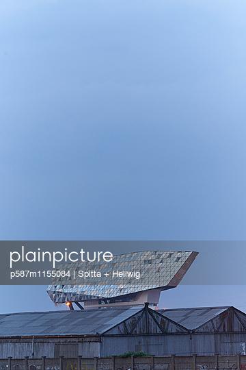 Neues Hafenhaus in Antwerpen - p587m1155084 von Spitta + Hellwig