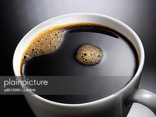 Plain coffee