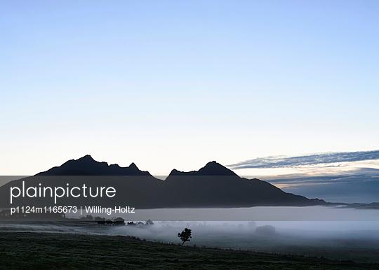 Nebel auf den Lofoten - p1124m1165673 von Willing-Holtz