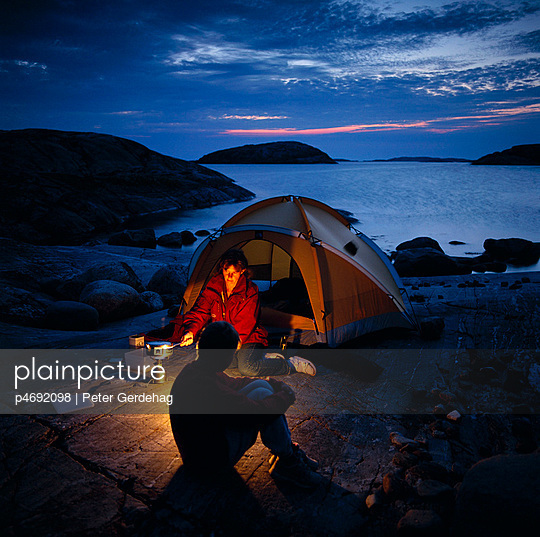Camping in the archipelago
