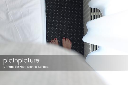 Dicker Bauch - p116m1145789 von Gianna Schade