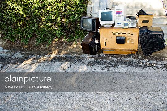 Old technology on street