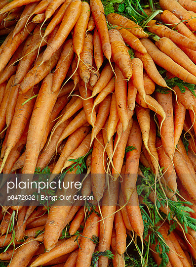 Bunches Of Carrots, Full Frame