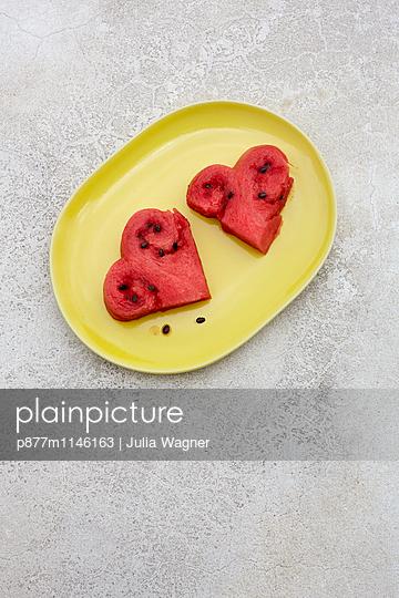 Melonenherz 1 - p877m1146163 von Julia Wagner
