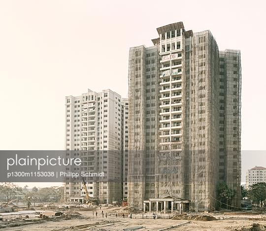 Baustelle Yangon - p1300m1153038 von Philipp Schmidt
