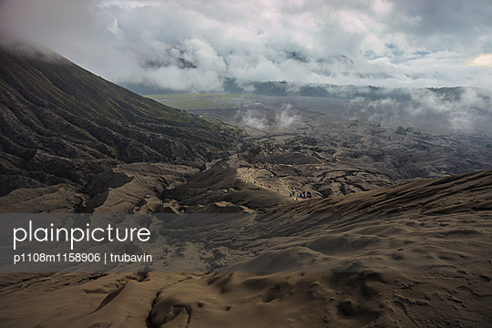 Blick vom Vulkan Bromo  - p1108m1158906 von trubavin