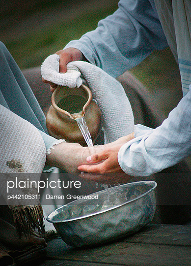 Jesus Washes Disciple\'s Feet