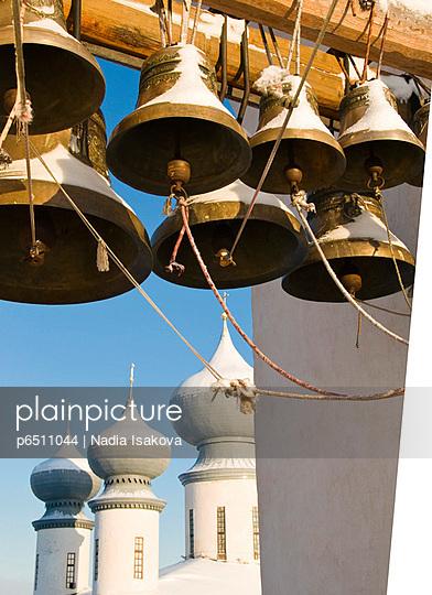 Bell tower, Bogorodichno-Uspenskij Monastery, Leningrad region, Russia