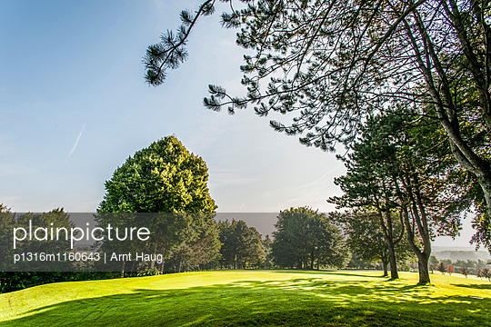 Golfclub, Niedersachsen, Norddeutschland, Deutschland - p1316m1160643 von Arnt Haug