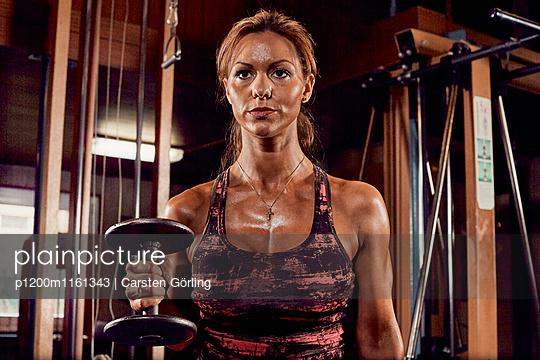 Bodybuilding - p1200m1161343 von Carsten Görling