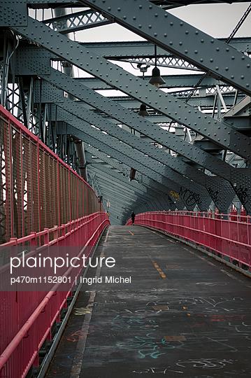 Williamsburg Bridge - p470m1152801 von Ingrid Michel