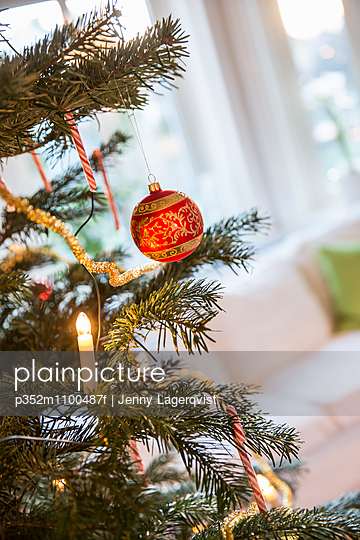sweden christmas decorations on tree stock images page everypixel - Swedish Christmas Tree