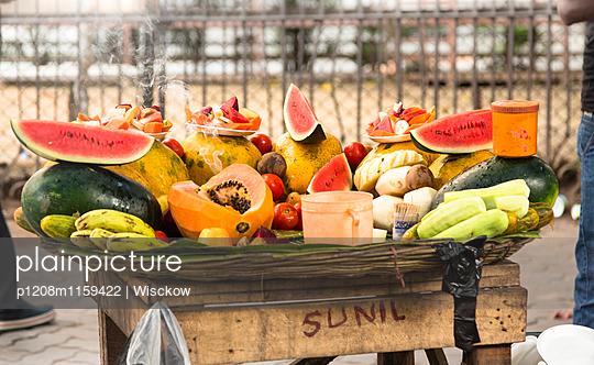 Fruchtstand in Indien - p1208m1159422 von Wisckow
