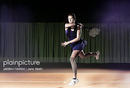 Tennis - p608m1164924 von Jens Nieth