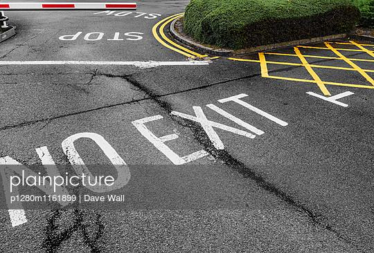 Einfahrt, Ausfahrt - p1280m1161899 von Dave Wall