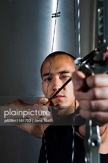 Bogenschießen - p608m1161703 von Jens Nieth