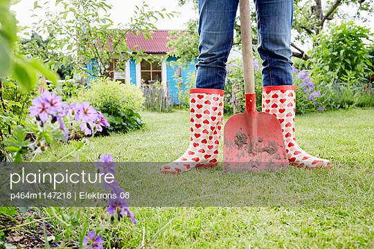 Gartenzeit - p464m1147218 von Elektrons 08
