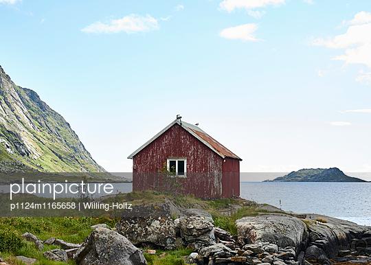 Hütte am Fjord - p1124m1165658 von Willing-Holtz