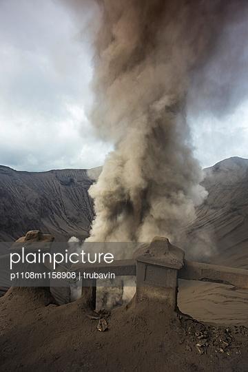 Blick auf den Bromo Vulkan  - p1108m1158908 von trubavin