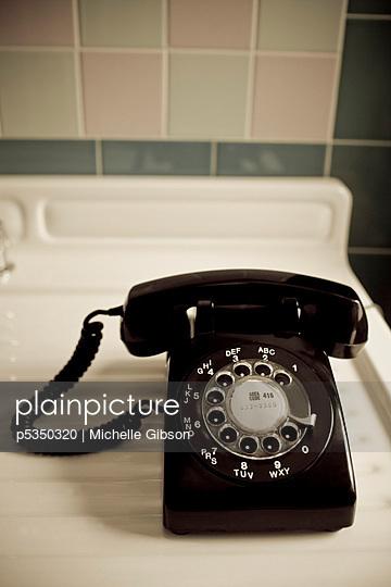 Old fashion telephone