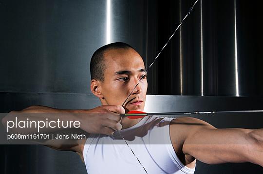 Bogenschießen - p608m1161701 von Jens Nieth