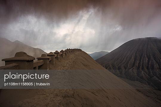 Blick auf den Vulkan Bromo  - p1108m1158905 von trubavin