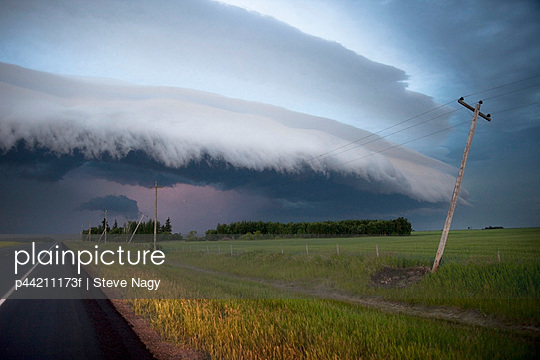 Weather Front, Alberta, Canada