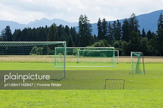 Fußballtore - p1149m1162647 von Yvonne Röder