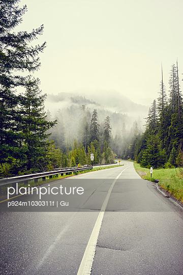 Redwood Highway, route 101, Eureka, California, USA