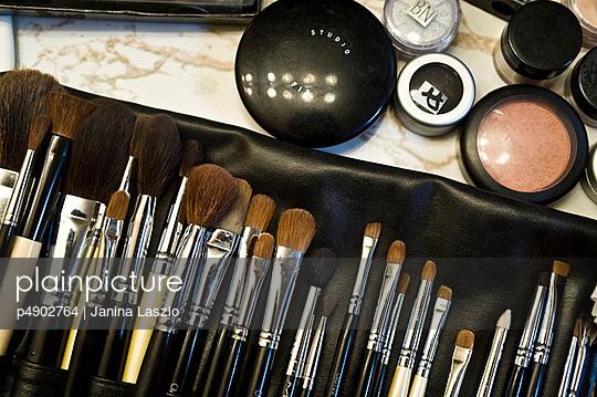 Assortment of make up articles
