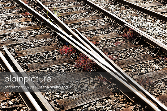 Schienen - p1114m1159770 von Carina Wendland