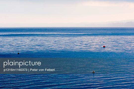 Bojen auf Starnberger See, Bayern, Deutschland - p1316m1160373 von Peter von Felbert