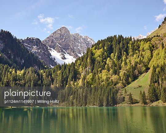 Bergsee in den Französichen Alpen  - p1124m1149997 von Willing-Holtz