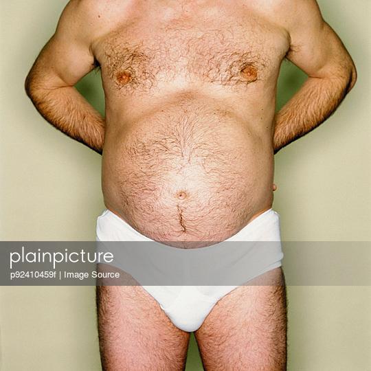 Male abdomen